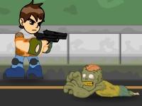 Флеш игра Бен Тен против зомби