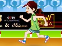 Флеш игра Бег на 100 метров