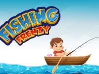 Флеш игра Бешенная рыбалка