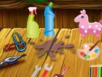 Флеш игра Беспорядок в доме: Поиск предметов