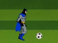 Флеш игра Бэтмен играет в футбол