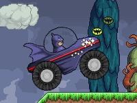 Флеш игра Бэтмен на грузовике