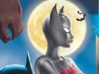 Флеш игра Бэтмен спасает Женщину-Кошку