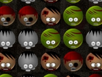 Флеш игра Бей зомби на Хэллоуин