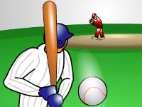 Флеш игра Бейсбол: Отбей мяч