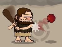 Флеш игра Бейсбол каменного века
