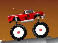 Флеш игра Безумная гонка на грузовиках-монстрах