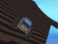 Флеш игра Безумная гонка на монстре 3D