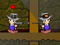 Флеш игра Безумная перестрелка