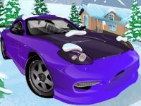 Флеш игра Безумная зимняя парковка