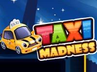 Флеш игра Безумное такси