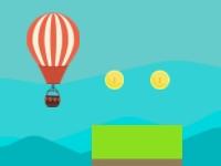 Флеш игра Безумные приключения воздушного шара