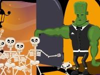 Флеш игра Безумные скелеты