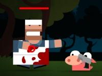 Флеш игра Безумные зверушки: Резня