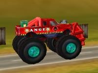 Флеш игра Безумный грузовик