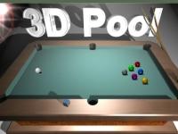 Флеш игра Бильярд 3D