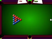 Флеш игра Бильярд: Синие против красных
