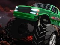 Флеш игра Битва грузовиков-монстров