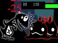 Флеш игра Битва монстров