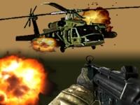Флеш игра Битва против вертолета