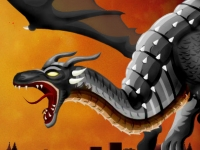 Флеш игра Битва с драконом