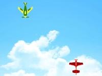 Флеш игра Битва самолетиков