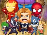 Флеш игра Битва супергероев: Арена