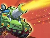 Флеш игра Битва танков 1 на 1