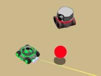 Флеш игра Битва танков 3D
