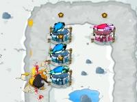 Флеш игра Битва в Антарктиде