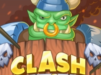 Флеш игра Битвы кланов орков
