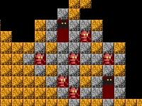 Флеш игра Блоки в подземелье