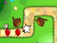 Флеш игра Блунс: Защита башни 5