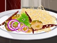 Флеш игра Блюдо с овощами и лапшой