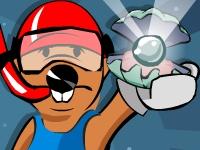 Флеш игра Бобер ныряльщик