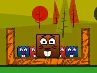 Флеш игра Бобры и блоки