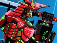 Флеш игра Боевой робот-самурай