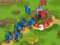 Флеш игра Боевые муравьи