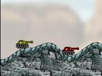 Флеш игра Большая битва танков