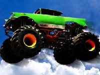 Флеш игра Большие колеса 3D