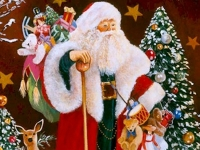 Флеш игра Большой Санта: Поиск отличий