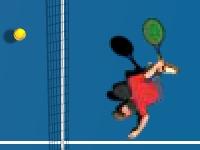 Флеш игра Большой теннис