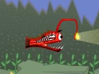 Флеш игра Борьба за еду среди рыб