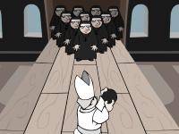 Флеш игра Боулинг монашками