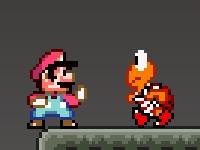 Флеш игра Бой Марио