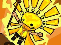 Флеш игра Божественный кот против солнечного короля 2