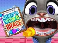 Флеш игра Брекеты для Джуди Хопс