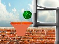 Флеш игра Броски баскетбольного мяча