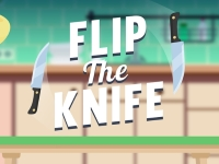 Флеш игра Бросок ножа с вращением
