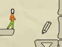 Флеш игра Бумажный квест